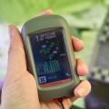 全程都是根據其他山友的GPS軌跡導航行走,不用時關機省電。